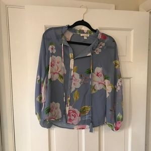 Yumi Kim XS Silk Sundown Blouse